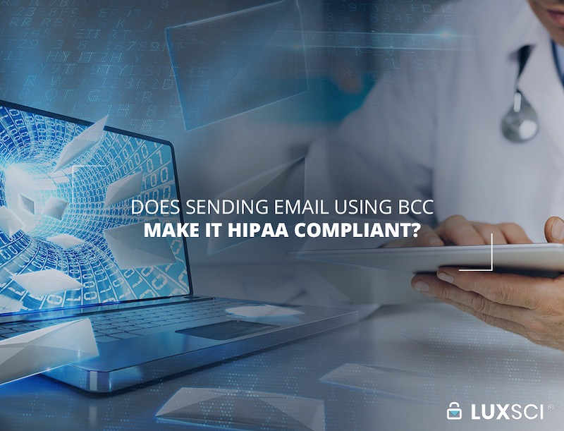email bcc hipaa