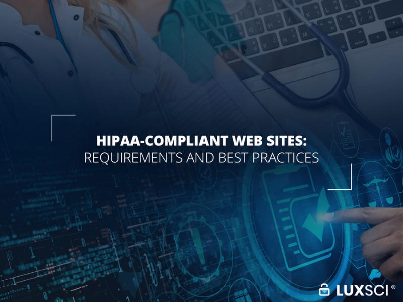 hipaa compliant web site