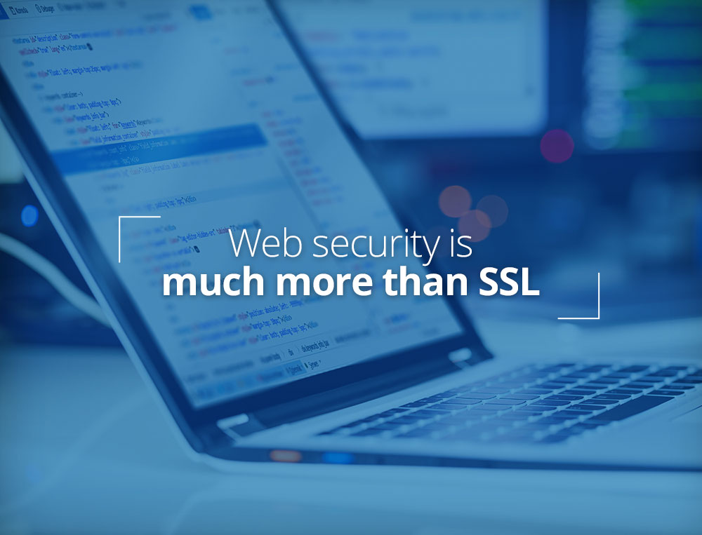 Web security is more than SSL