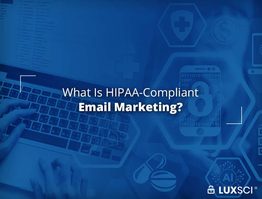 HIPAA email marketing