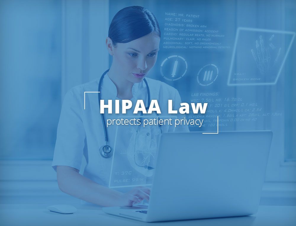 HIPAA Law protects patient privacy