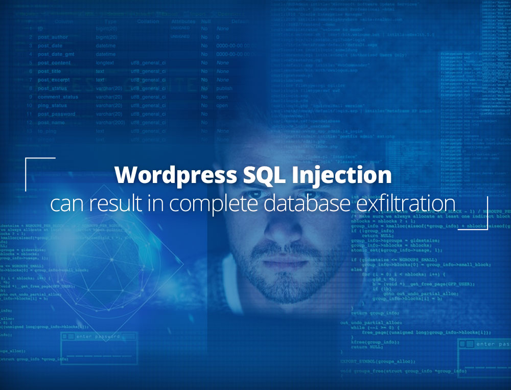 SQL Injection allows data exfiltration