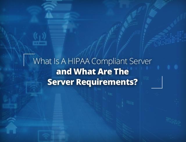 hipaa compliant web server