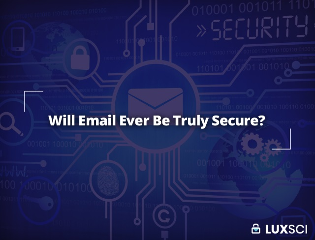 will email ever be secure