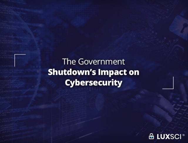 government shutdown impact on cybersecurity