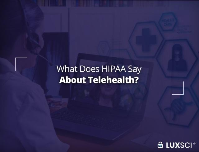 telehealth HIPAA