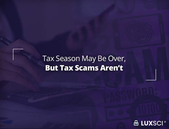 tax season scams