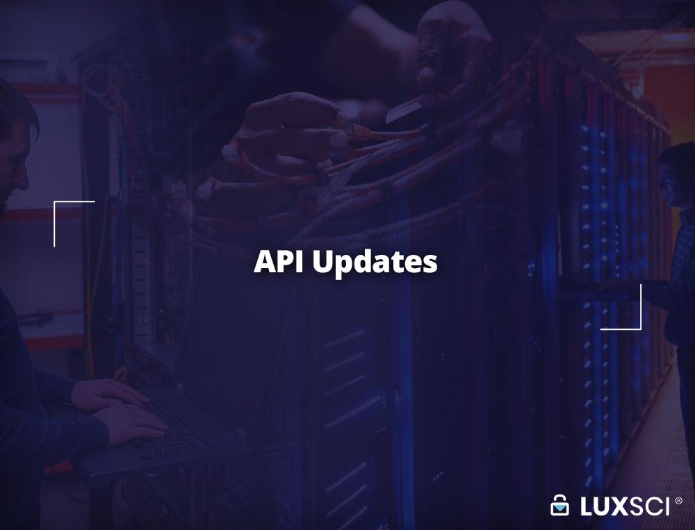 API Updates