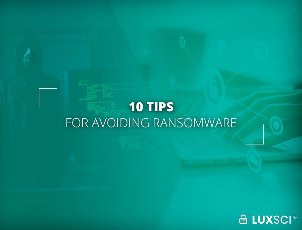 Avoiding Ransomware