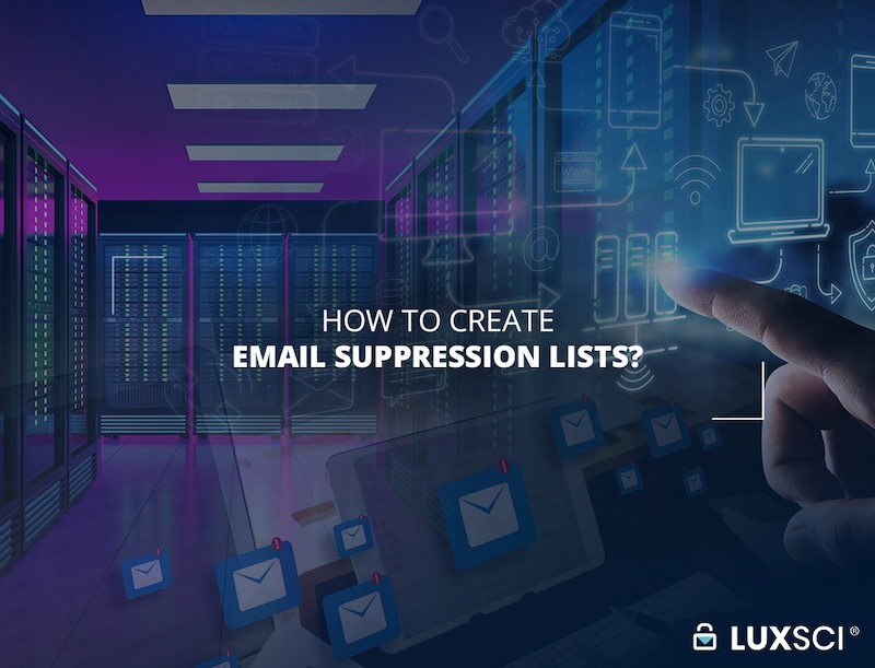 email suppression lists