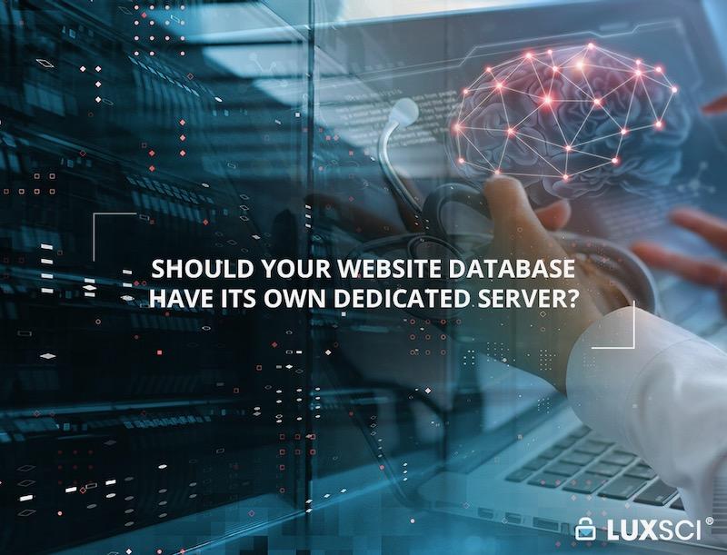 dedicated web site database