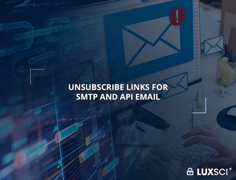 unsubscribe links