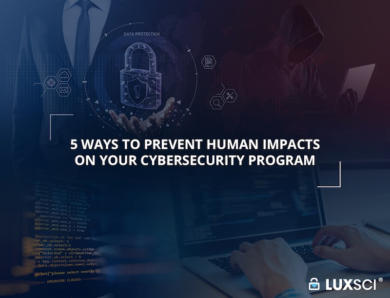 prevent human effects on cybersecurity